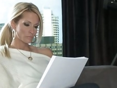 Nice-looking writer Jessica Drake dreaming of sex