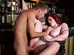 Busty sexy milf Jaye Rose enhjoys having younh stud Danny D fucking her brains out