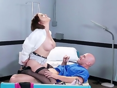 Sexually excited man Johnny Sins oves feeling hottie Krissy Lynn deep down her wet pussy