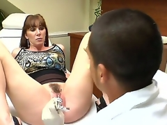 Ray Veness can't live without having her doc finger fucking her pussy before hardcore fucking