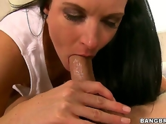 Gorgeous milf India Summer learns that its juvenile Seths birthday, and she gives him smth to remember - an epic blowjob that makes him cum harder than ever in his life!