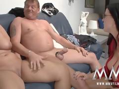 MMV Films sex nanny watches a mature pair