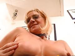 Member pierced enters her vagina