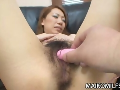 Curly Bawdy cleft Japanese MILF Sex