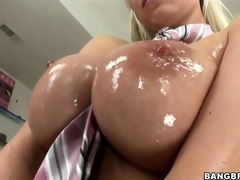 Sweet, oiled up love melons and wet wet crack make this Hungarian ultra horny