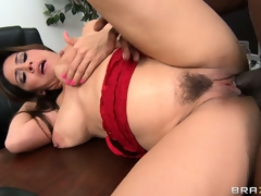 Dean Raylene sucks on his joint and then gets it pussy injected