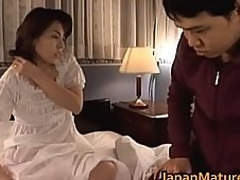 Mature Japanese sweetheart receives fingered part4