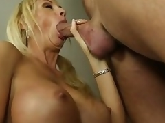 Buxom milf Brooke Tyler having sex with hot lad
