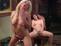Large tittied MILFs masturbate research a piano lesson