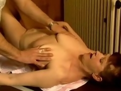 Adult slut Stephanie seduces a masseur and bonks him