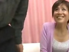Asian Wife tries to immerse b reach her Husbands dick