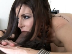 India Summer takes biggest darksome dick in 69 position